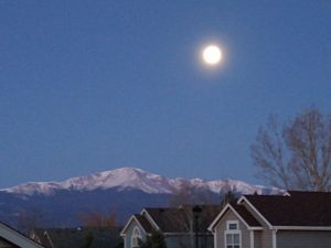 pink super moon colorado springs
